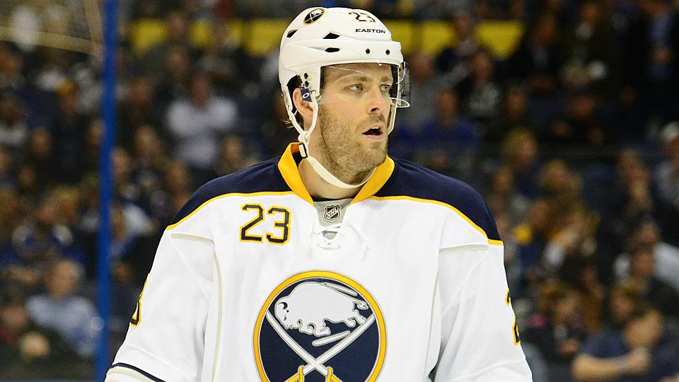 One of the biggest free agent busts of recent years, winger Ville Leino earns Least Valuable Player honors for scoring no goals and 15 points in 58 games last season.
