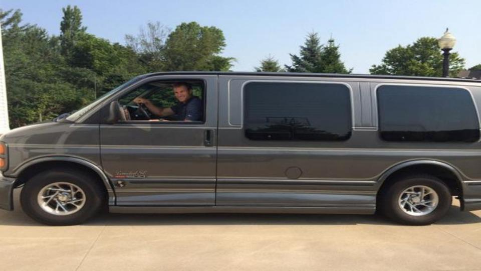 Redskins QB Kirk Cousins is also driving around a conversion van this offseason