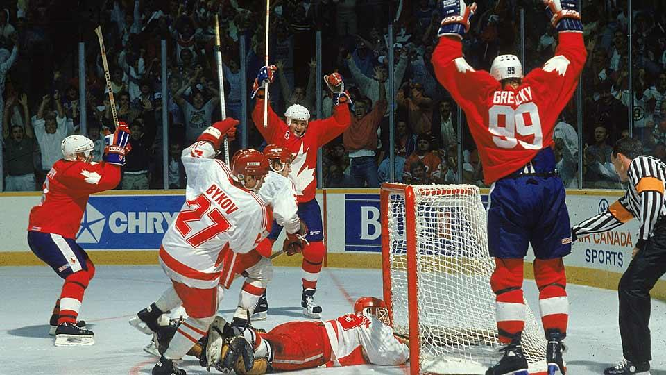 The 1987 Canada Cup tournament boasted 12 future Hockey Hall of Famers on Team Canada, Soviet hockey legends and sparkling play.
