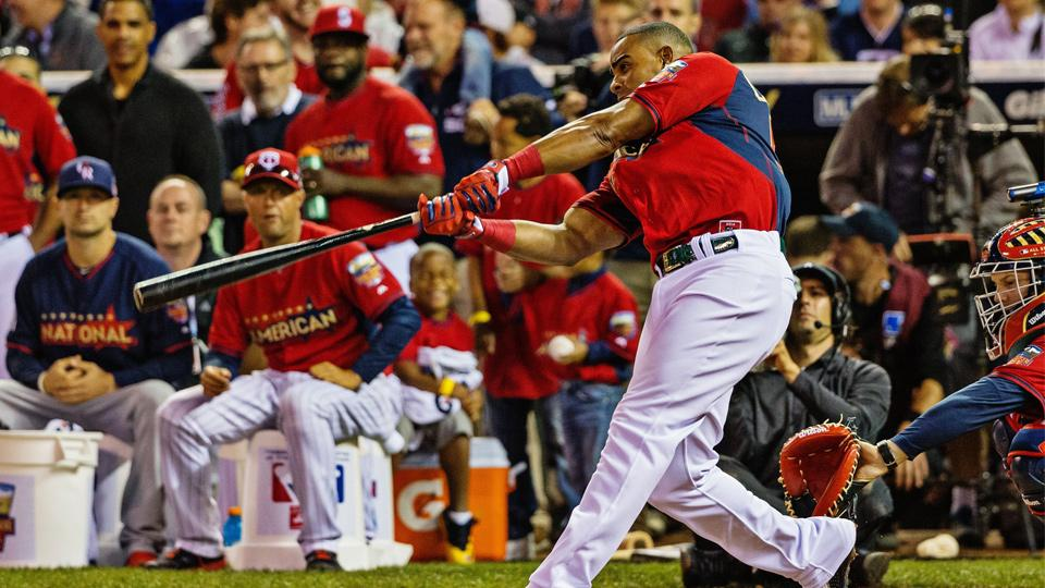 Yoenis Cespedes defended his Home Run Derby title with 30 total homers and nine in the final round.