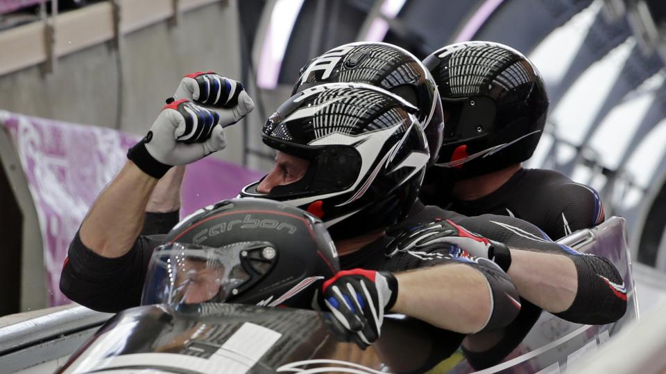 Steven Holcomb became the first U.S. pilot to medal in both the two-man and four-man bobsled in 62 years.