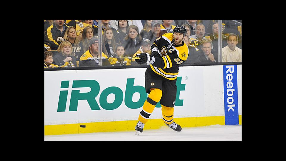 Bruins defenseman Zdeno Chara's slapper can be an awesome spectacle.