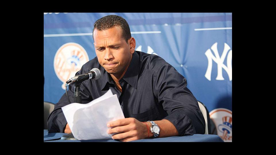 In 2009, Alex Rodriguez admitted using steroids from 2001-03 but had never been suspended for using PEDs -- until now.