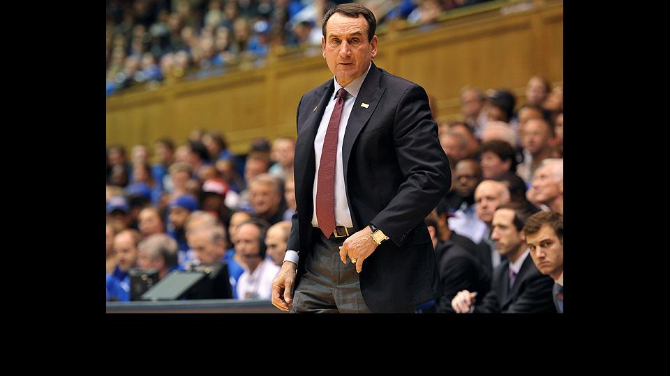 Mike Krzyzewski has to address his team's defensive deficiencies against Arizona.