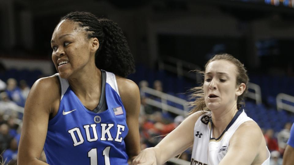 Duke star Azurá Stevens transferring to UConn