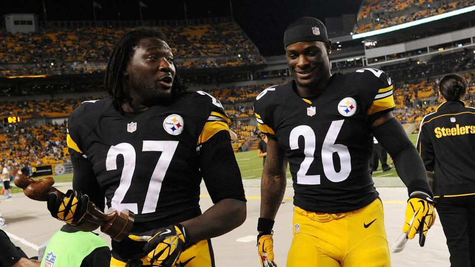 Mike Tomlin: I played Le'Veon Bell, LeGarrette Blount late into game as punishment