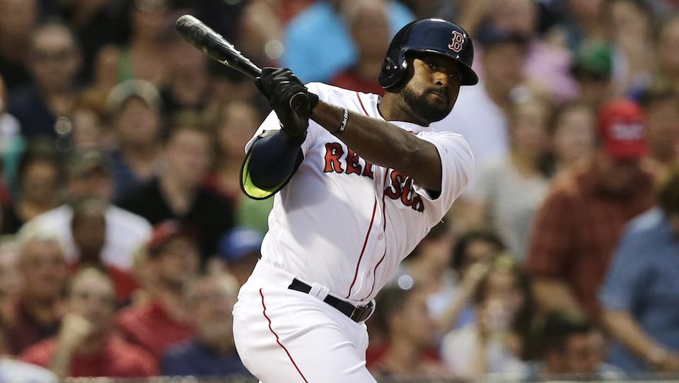 Boston-red-sox-jackie-bradley-hitting-streak-snapped