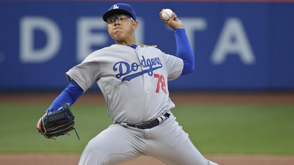Julio-urias-dodgers-major-league-debut