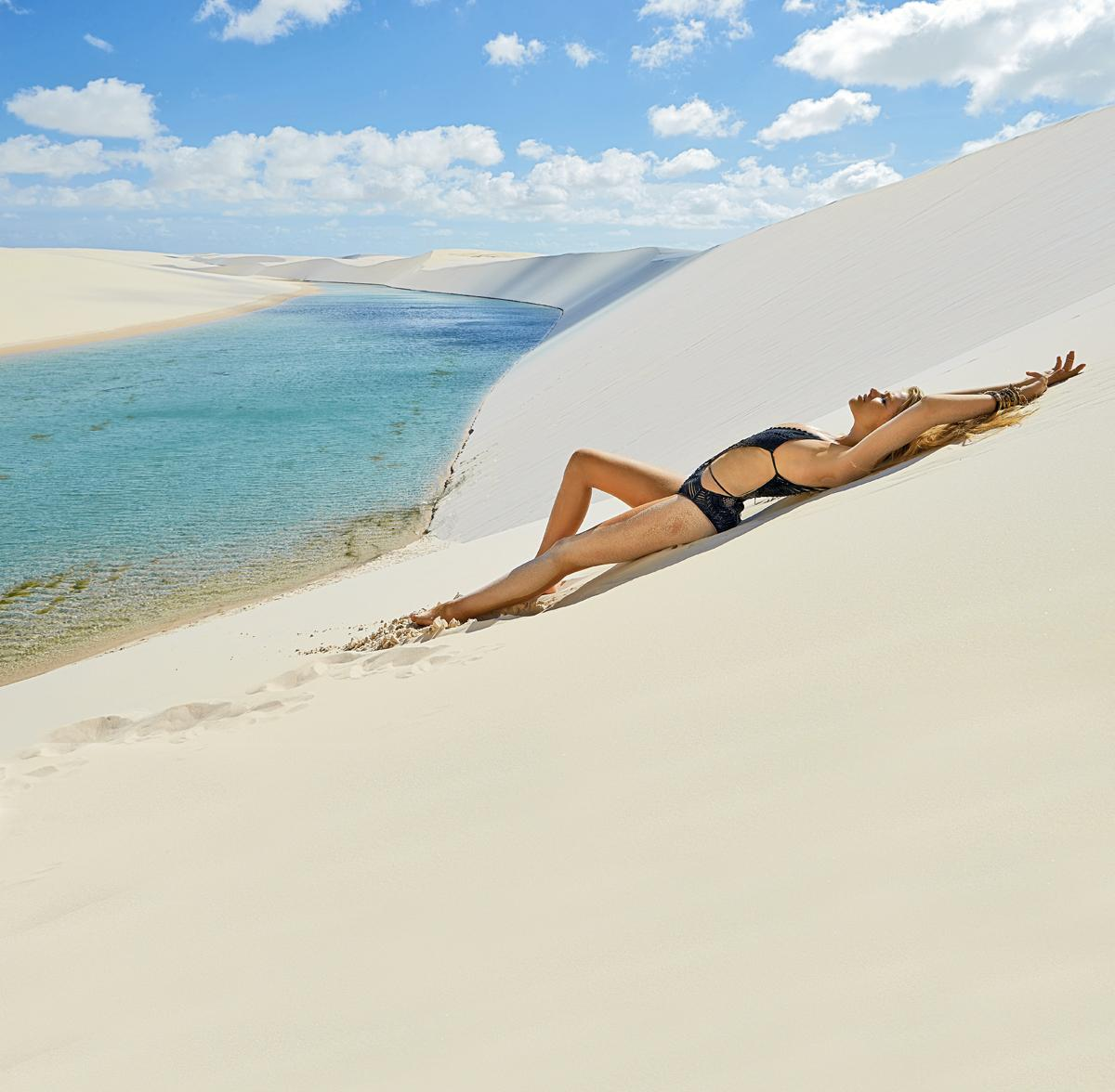 Camille Kostek Outtakes: Valerie Van Der Graaf SI Swimsuit 2014 Outtakes In Brazil