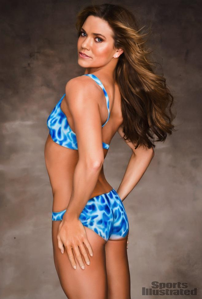 Natalie Coughlin - Body Paint - 2012 Sports Illustrated Swimsuit ...
