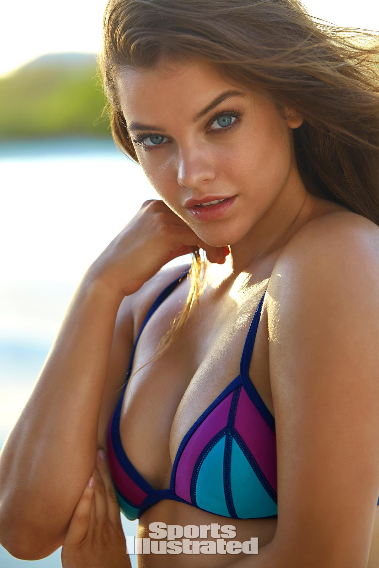 erin heatherton 2015 swimsuit bodypaint gallery | SI.com
