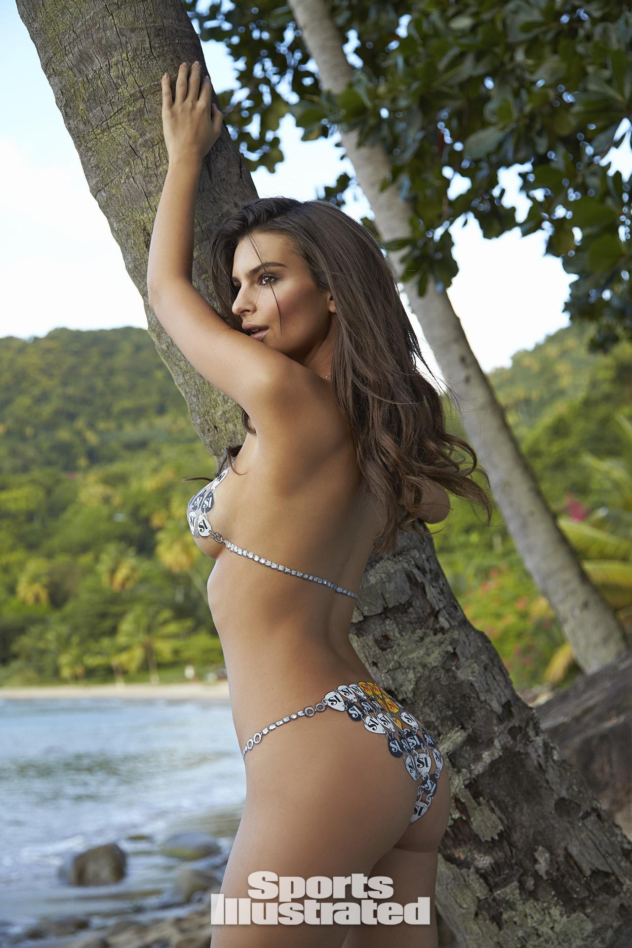 Lindsey Vonn Wiki >> Emily Ratajkowski Swimsuit Body Paint Photos, Sports Illustrated Swimsuit 2014