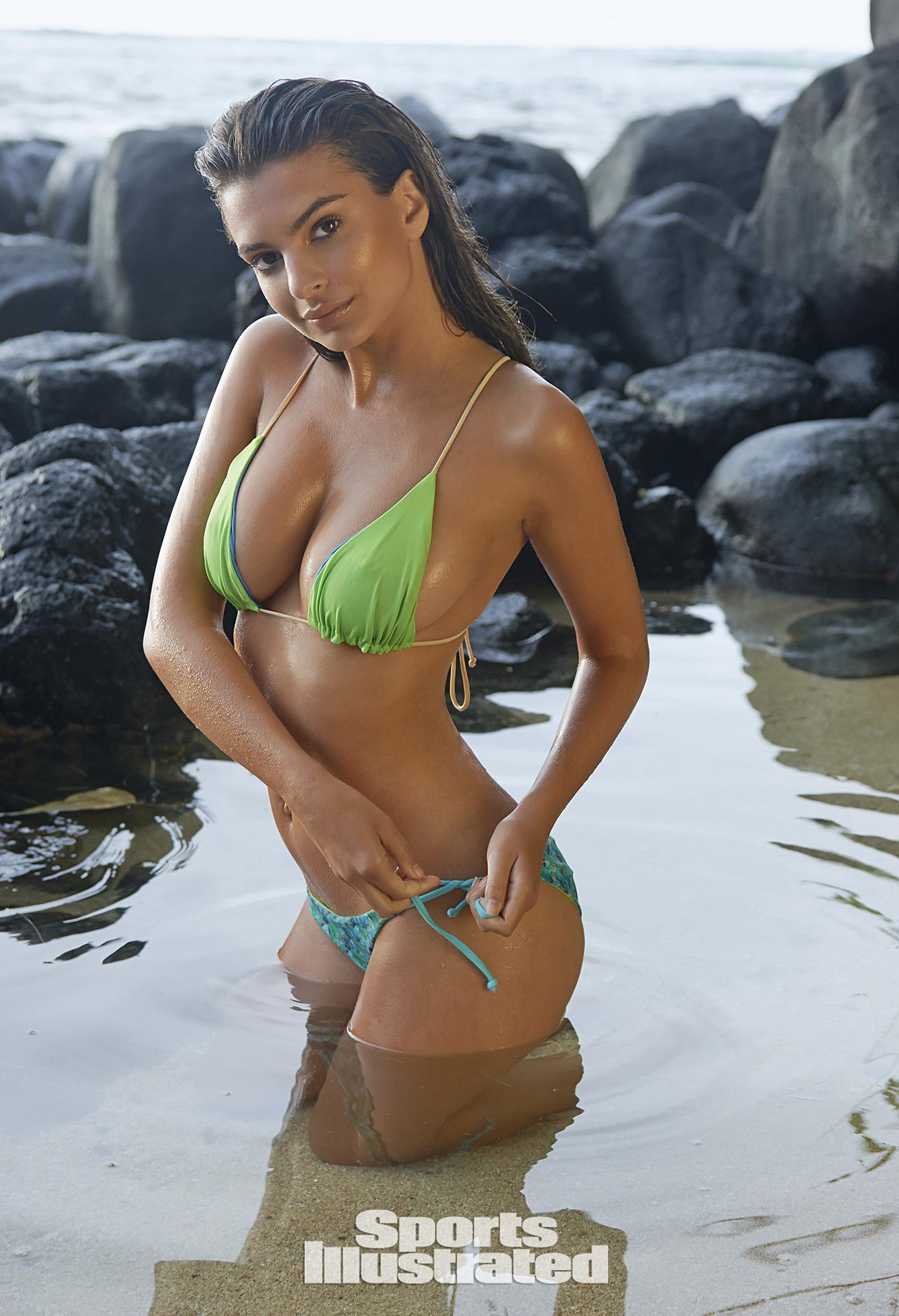 Emily Ratajkowski Swimsuit Photos, Sports Illustrated Swimsuit 2015