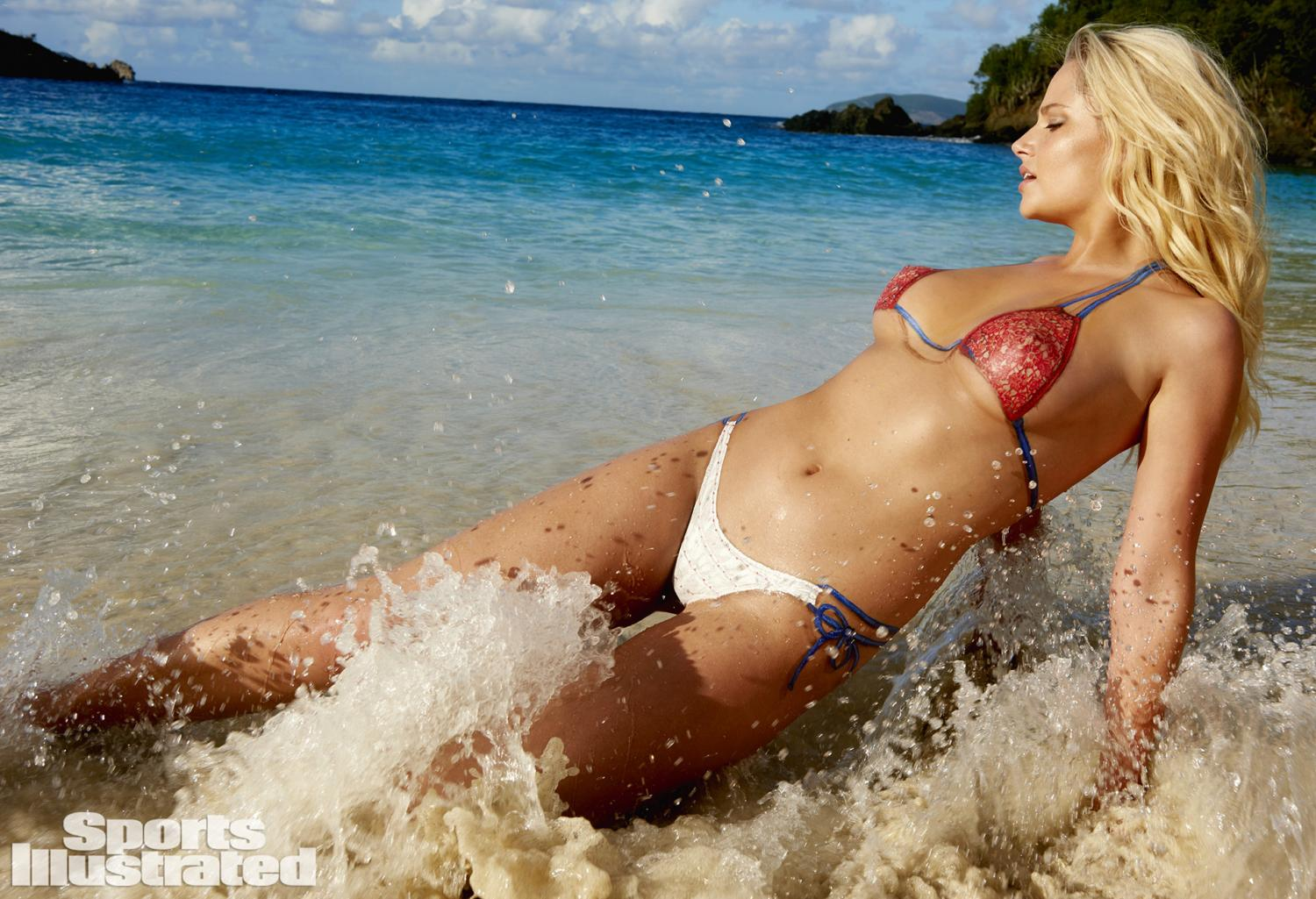 Genevieve Morton Swimsuit Body Paint Photos, Sports Illustrated ...