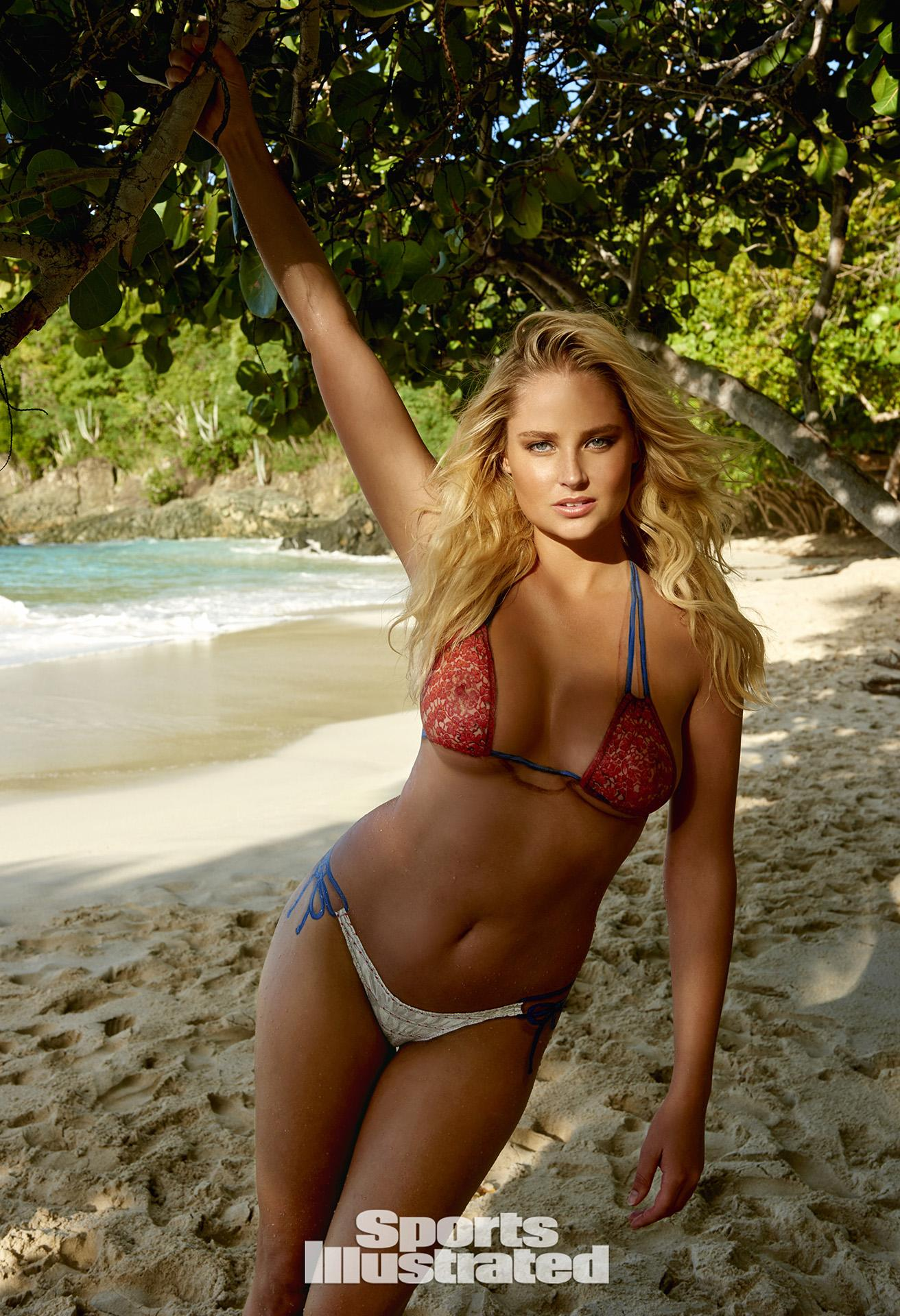 ... Morton Swimsuit Body Paint Photos, Sports Illustrated Swimsuit 2015