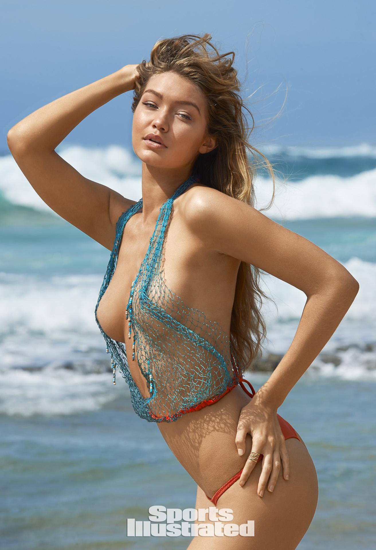 Gigi hadid sports illustrated nude