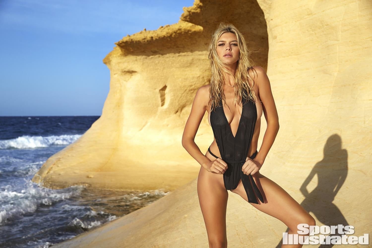 Kelly Rohrbach was photographed by Ben Watts in Malta. Swimsuit by ...