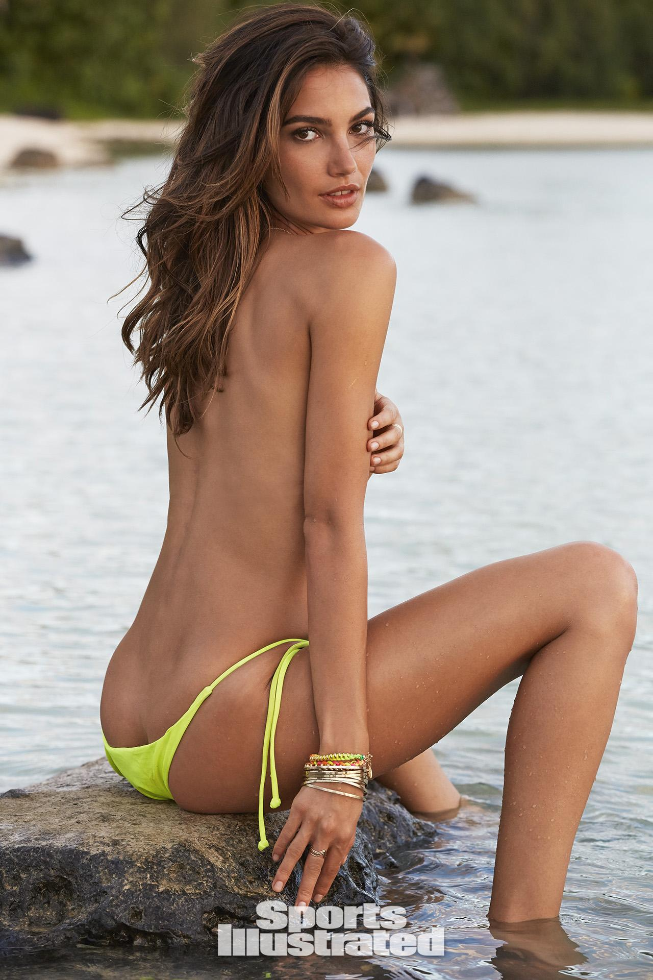 Lily Aldridge in Lingerie for VS 2014 -17 - GotCeleb