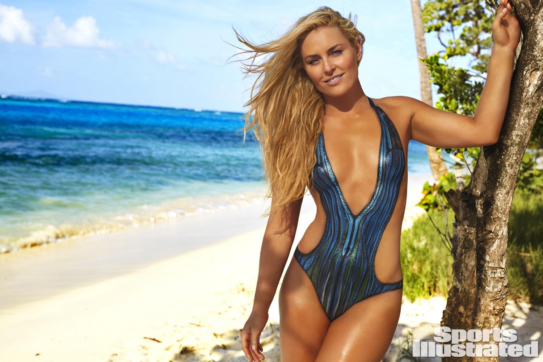 ... Vonn Swimsuit Body Paint Photos, Sports Illustrated Swimsuit 2016