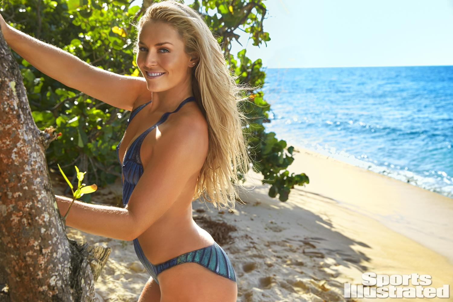 Lindsey Vonn Swimsuit Body Paint Photos, Sports Illustrated Swimsuit ...