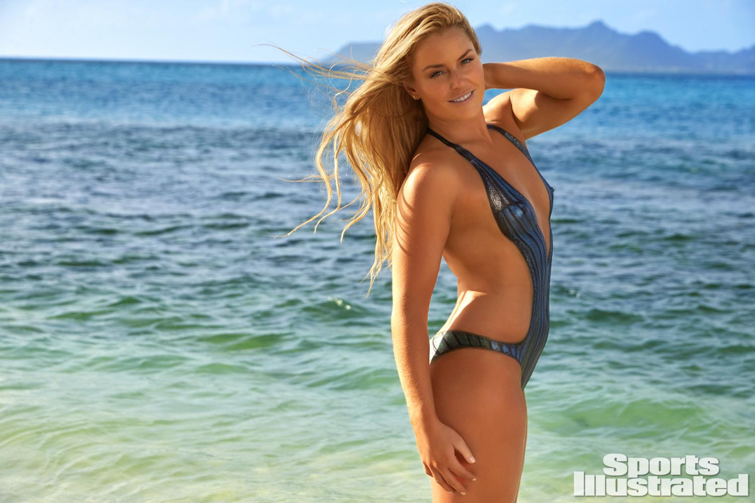 ... Vonn Swimsuit Body Paint Photos, Sports Illustrated Swimsuit 2016