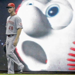 The outlook is alarming for Reds leftfielder Ryan Ludwick in Milwaukee.