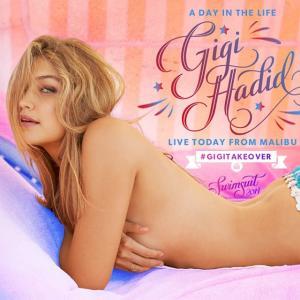 Gigi Hadid :: #GigiTakeover @si_swimsuit