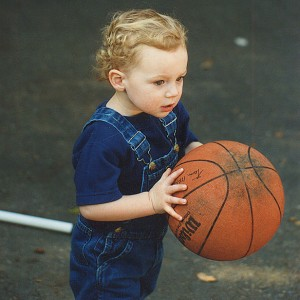 At two years old, Love knew he was destined for a career in hoops