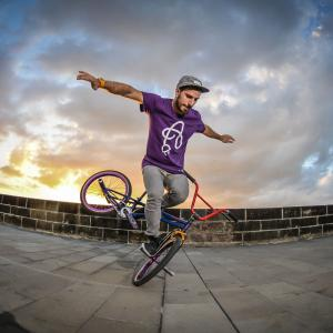 Alberto Moya at the Red Bull BMX Flatland Africa Tour 2014 in Mauritius.
