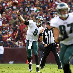 It might seem crazy to think about using a rookie signal-caller from a team spiraling into the abyss -- but sometimes, crazy works. That may be the case this week in Tampa, where Foles takes on the league's easiest team to pass against.