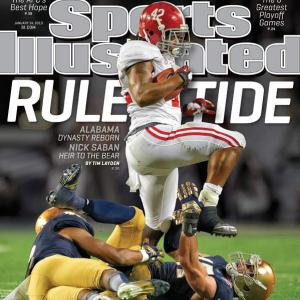 Alabama turned what was supposed to be a defensive showdown into an offensive beatdown, and by the second half the only competition remaining was between the school's old coach and its current one. Tim Layden writes about the dominance that Alabama displayed and the continuing ascendance of a living legend in Nick Saban. (Check out SI's web version of the magazine.)