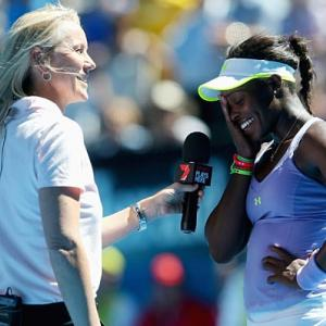 Sloane Stephens was the talk of the Australian Open after upsetting tournament favorite Serena Williams in the quarterfinals. Here's a look at her career in pictures.