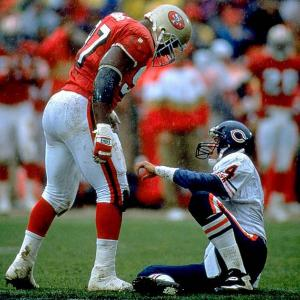 A Niners lifer, Young started 208 games, making 276 tackles and 89.5 sacks to throw his hat in the ring with the best 49ers defensive linemen in history. Oh, and he helped the Red and Gold win a Super Bowl in his rookie year.