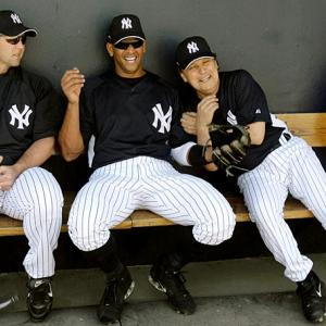 Celebrities at spring training over the years, beginning with Billy Crystal joking with Alex Rodriguez.
