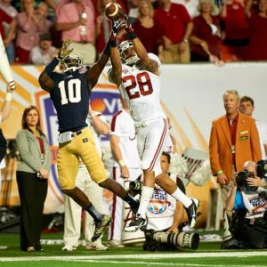 Milliner has given almost no reason not to the first cornerback selected in the NFL Draft and should go fairly high. He led the NCAA with 22 passes defended and had 54 tackles, two interceptions and a forced fumble. After a great showing in the national championship, Milliner addressed the one perceived flaw in his game with a 4.37-second 40-yard dash. He was scheduled for surgery in March to repair a torn labrum but will recover in plenty of time for the 2013 season.