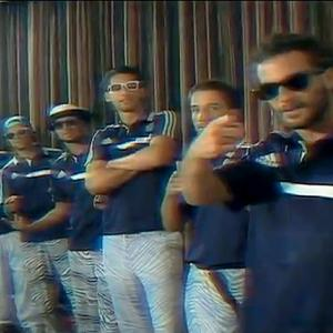In the spirit of The Superbowl Shuffle and the music of Cory and the Fins, Funny or Die had the MLS All-Stars rap,