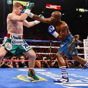 The inimitable Mayweather claimed win No. 45 -- along with a check for $41.5 million -- with another lopsided victory, this time over Saul Alvarez on September 14. Facing a younger, bigger opponent, Mayweather was masterful, showcasing his trademark elusiveness and connecting on more jabs (138) than in either of his previous two fights. Mayweather says he will return to the ring in May, with the most likely challengers being unified junior welterweight champion Danny Garcia or popular Brit Amir Khan. All records through Sept. 15