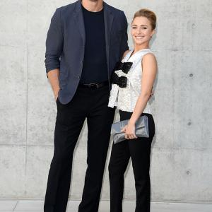 The heavyweight boxer and the actress began dating in 2009, split in 2011, but resumed their romantic relationship in 2013. On October 9, 2013, Panettiere confirmed the couple were engaged on ''LIVE! with Kelly and Michael.'' On December 9, 2014, Panettiere gave birth to their daughter, Kaya Evdokia Klitschko.