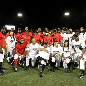 Before the Richard Sherman-Michael Crabtree feud went viral after the NFC Championship game, the two were on opposite teams at Larry Fitzgerald's third annual celebrity softball game. It was during the event's after-party that night, however, that Sherman says things went sour between the two.