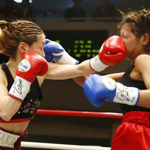 Welcome to Did You See That?, the photo gallery that asks The Big Existential Questions. This week's query was inspired by challenger Buangern OnesongchaiGym (right) smelling the glove of champion Ayaka Miyao during their WBA light minimumweight title bout in Tokyo: Why is boxing called