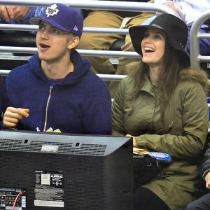 Los Angeles Kings vs. Toronto Maple Leafs March 13, 2014 at Staples Center in Los Angeles