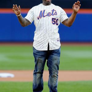 It's not often that the sports world is in unanimous agreement on something, but that was the case in Queens when 50 Cent threw out one of the worst ceremonial first pitches in baseball history. Everyone from Amy Schumer to our own Jon Wertheim weighed in on the atrocity. 50 Cent tried to justify the pitch later by reminding us that he's