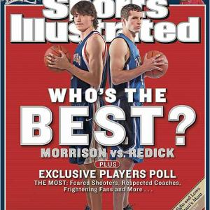 No sooner had Redick appeared on the cover than Duke lost back-to-back games for the first time all season -- 79-74 at Florida State and 83-76 to North Carolina. Of course, the real downer would come on March 23, when both Redick and Morrison were sent packing from the NCAA tournament on the same night.