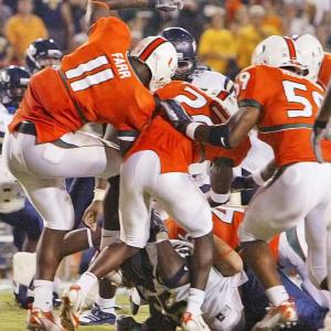 Former Hurricanes player turned broadcaster Lamar Thomas apparently was in favor of the ugly brawl between Miami and FIU at the Orange Bowl on Saturday night. Said Thomas during the brawl: