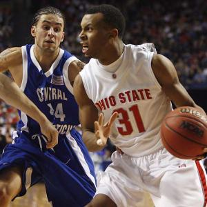 Daequan Cook and Ohio State ran all over Central Connecticut in the Buckeyes 21-point, first-round victory.