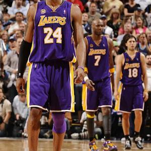 Even with his three titles, Kobe had never won the MVP. Until now. The Los Angeles star was handed the honor last week, along with a unanimous All-NBA team selection. Unfortunately, his Lakers lost two games against the Jazz, the last of which resulted in a back injury for Kobe on Sunday.