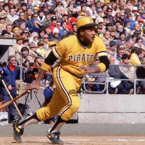 Willie Stargell is inducted in Baseball's Hall of Fame.