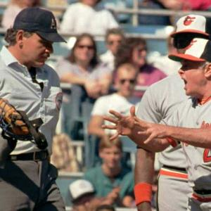 Earl Weaver becomes the first manager ejected in a World Series game.