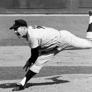 Whitey Ford notches his 232nd victory in a Yankees uniform, the most of any pitcher.