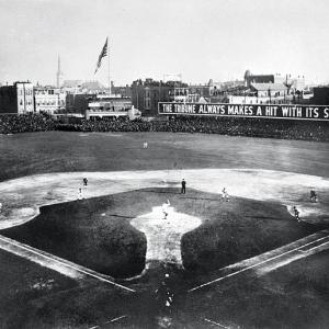 The Cubs finished with the best winning percentage in baseball history, steamrolling the National League competition and winning the pennant by 20 games over the Giants. But they were stunned by their crosstown rivals in the World Series. The